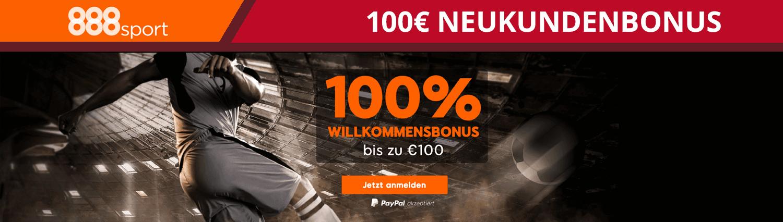 888sport Neukundenbonus 150 Euro