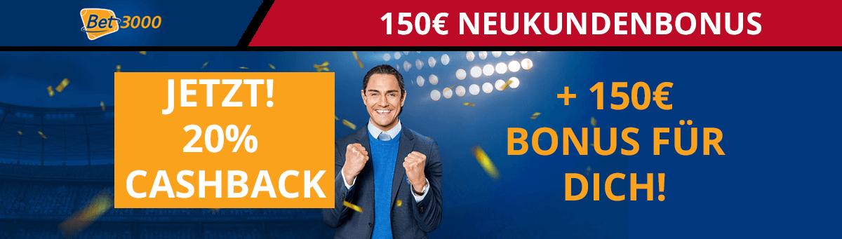 bet3000 Cashback Bonus