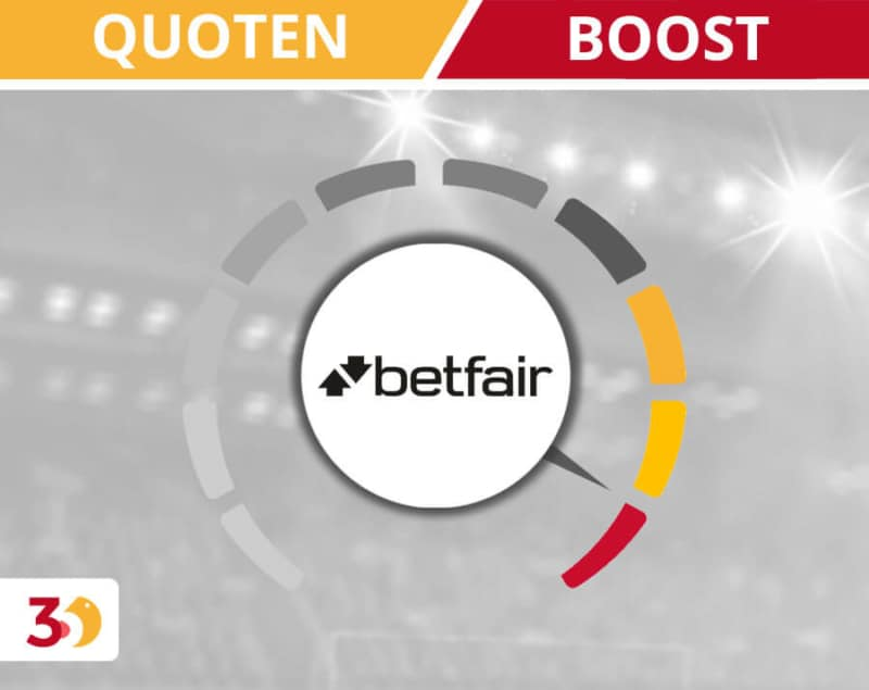 Quoten Boost bei betfair