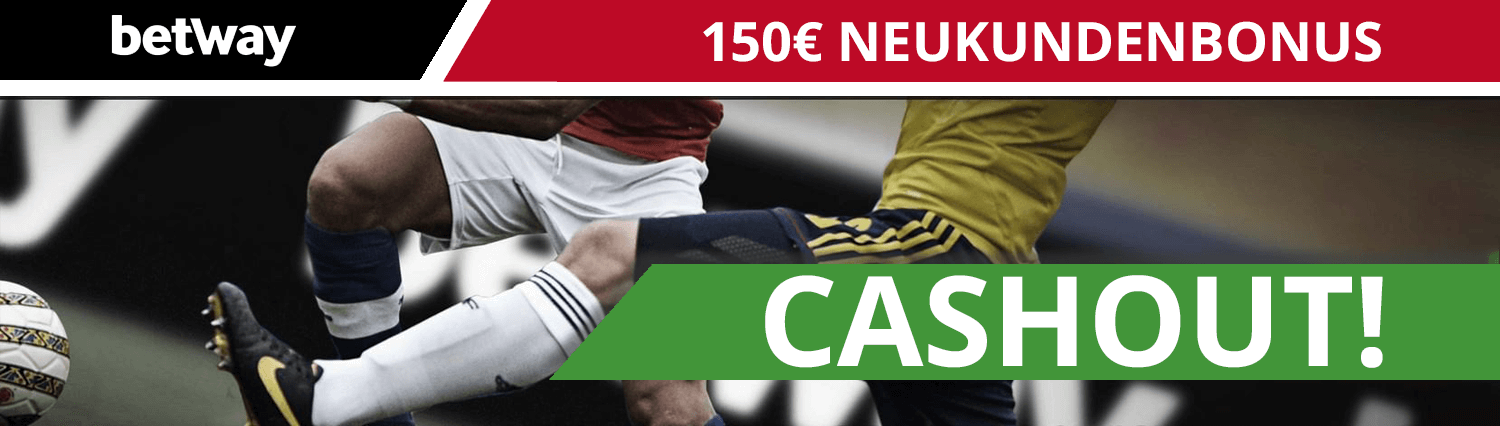 betway Cashout 150 Euro