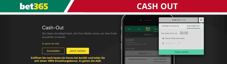 bet365 Cash Out