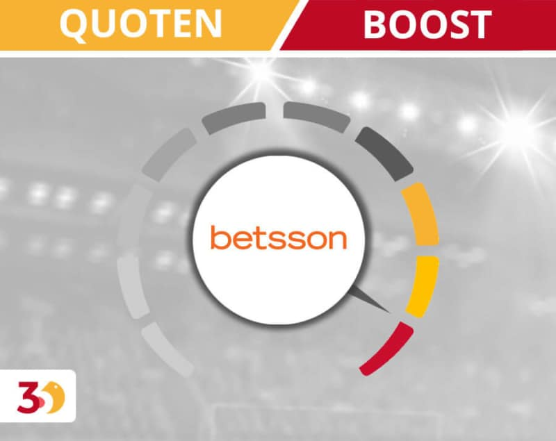Quoten Boost bei betsson