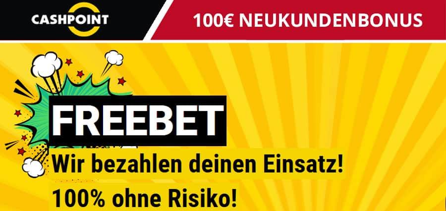 Cashpoint 100-Euro Neukundenbonus