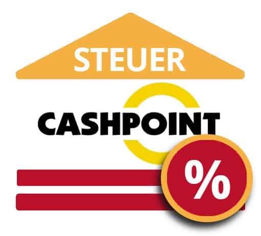 Cashpoint Steuer