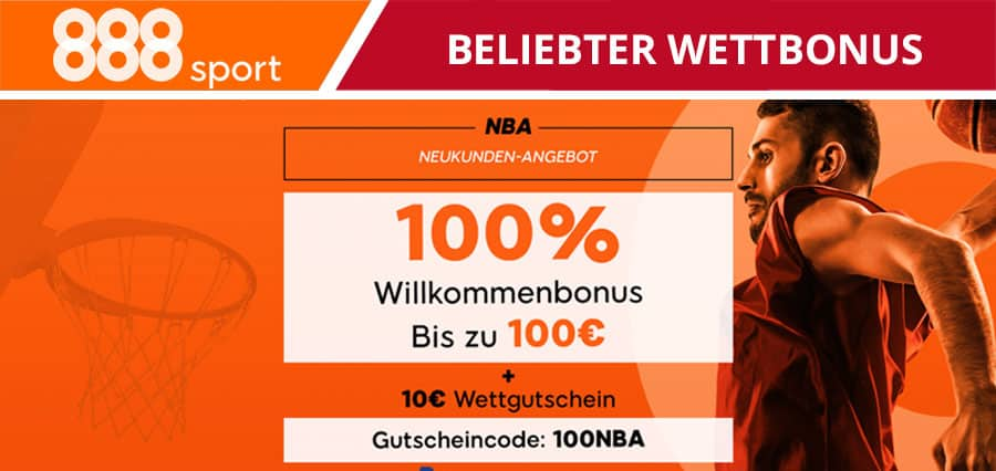 Beliebtester Wettbonus 888sport