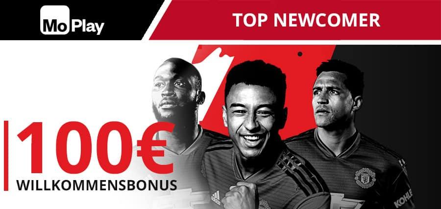 MoPlay 100 Euro Wettbonus