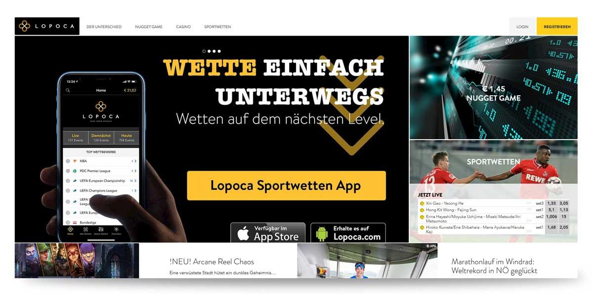 Startseite von Lopoca