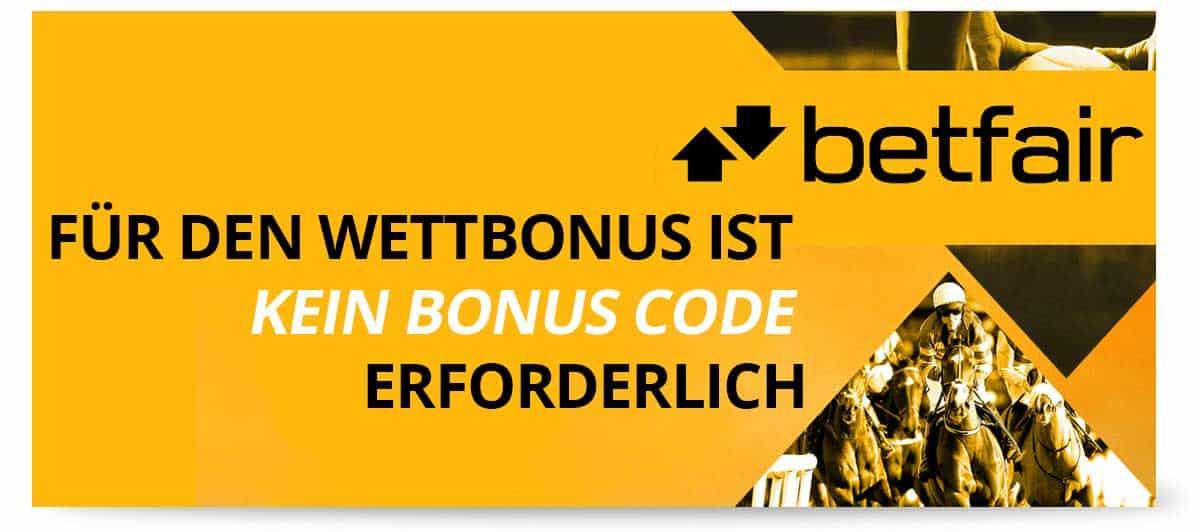 betfair Bonus Code