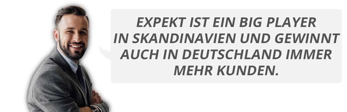 Erfahrungsbericht Expekt