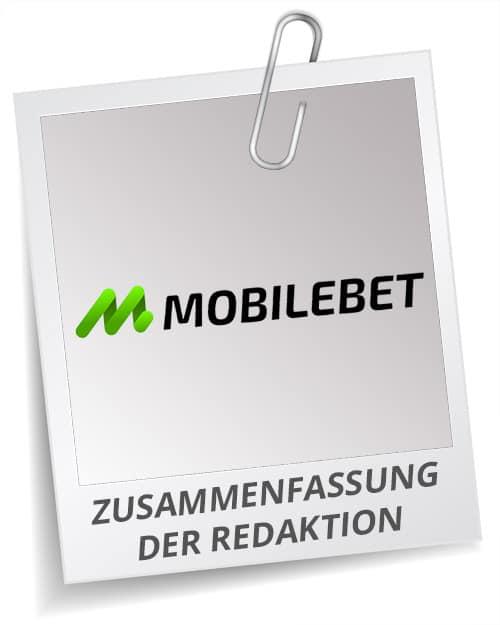 Fazit Mobilebet