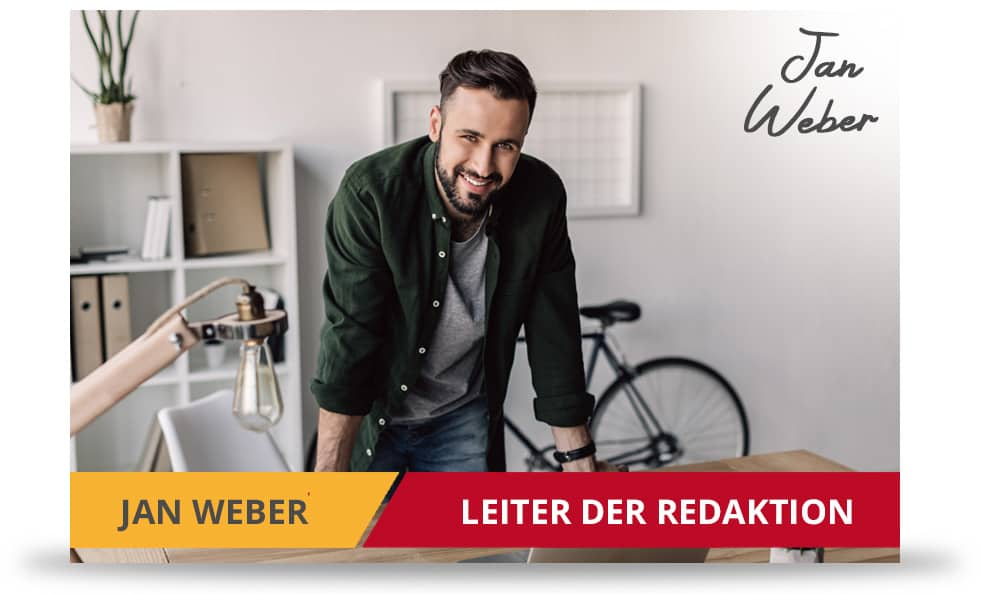 Redaktionsleiter vom Wettbonus Vergleich Jan Weber