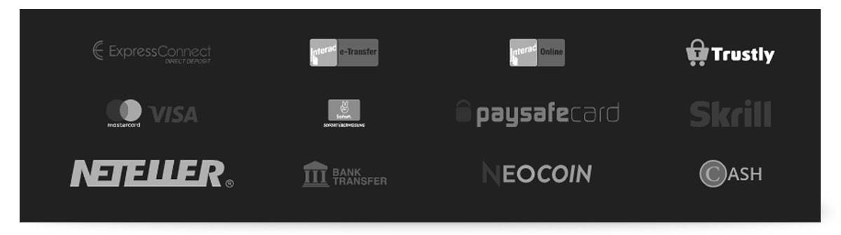 Neobet Zahlungsmethoden