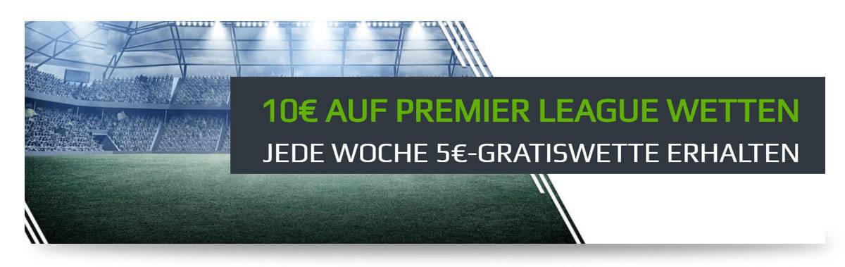 NetBet Premier League Gratiswette