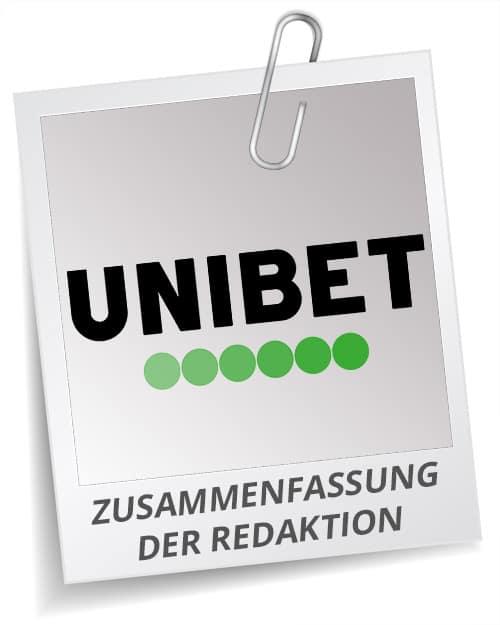 Unibet Bonus Test