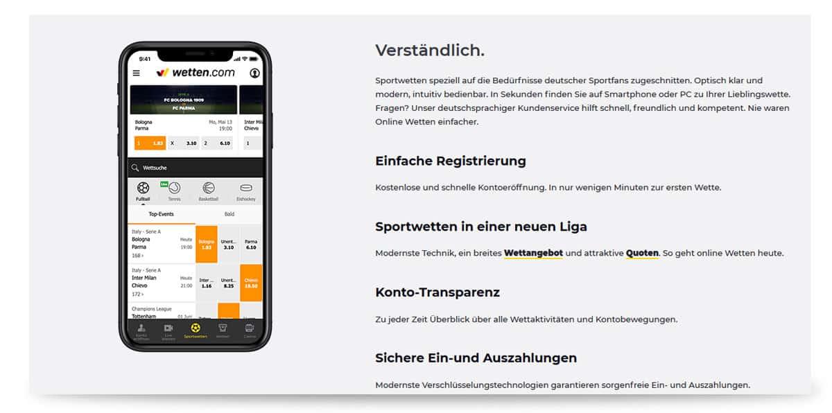 App von wetten.com