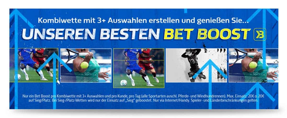 Kombiwetten Bonus William Hill