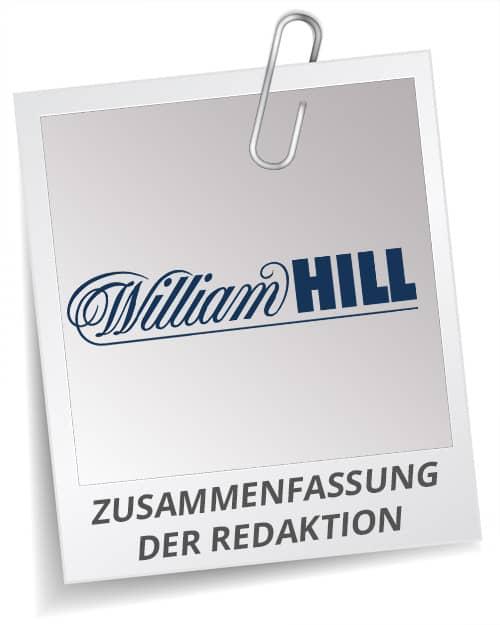 William Hill Bonus Testbericht