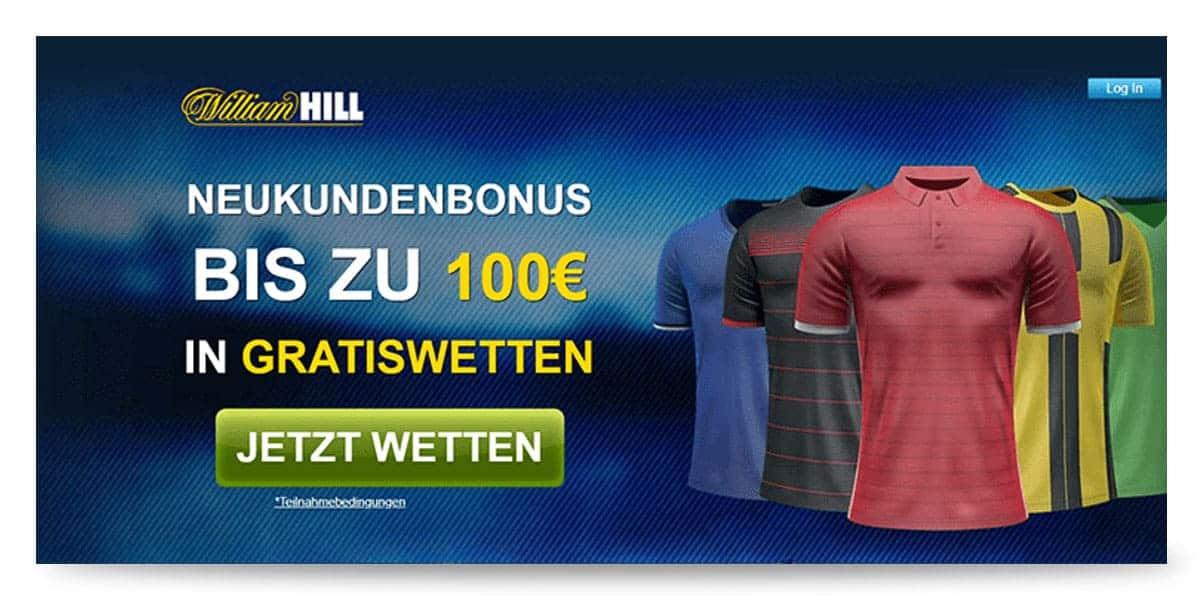 William Hill Wettbonus