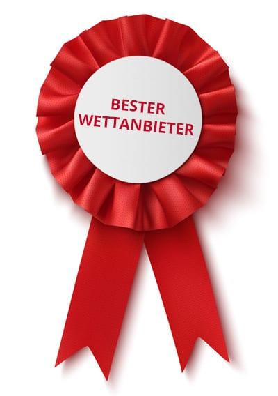 Auszeichnung bester Wettanbieter