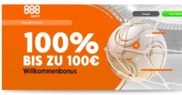 888 Wettbonus 100 Euro