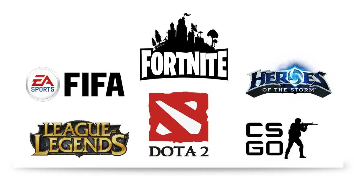 Beliebtesten eSports Spiele