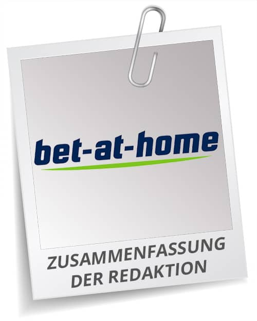 Testbericht bet-at-home