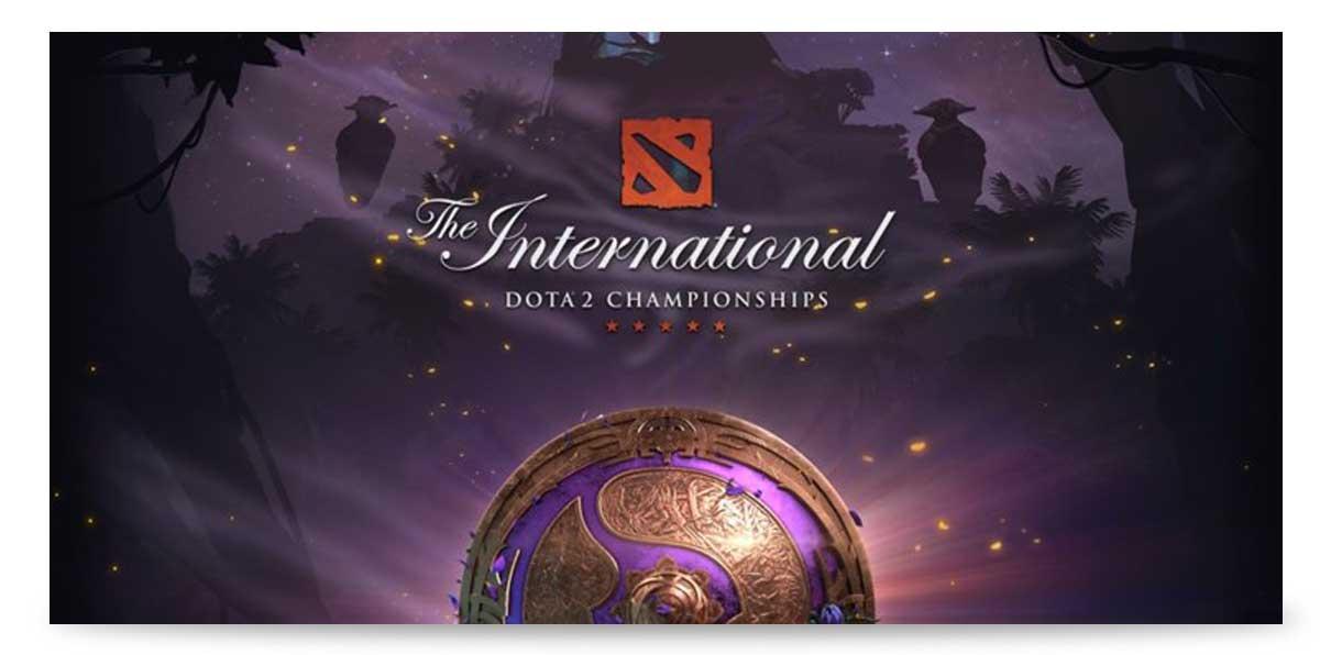 """The International"" e -Sports-Turniere"