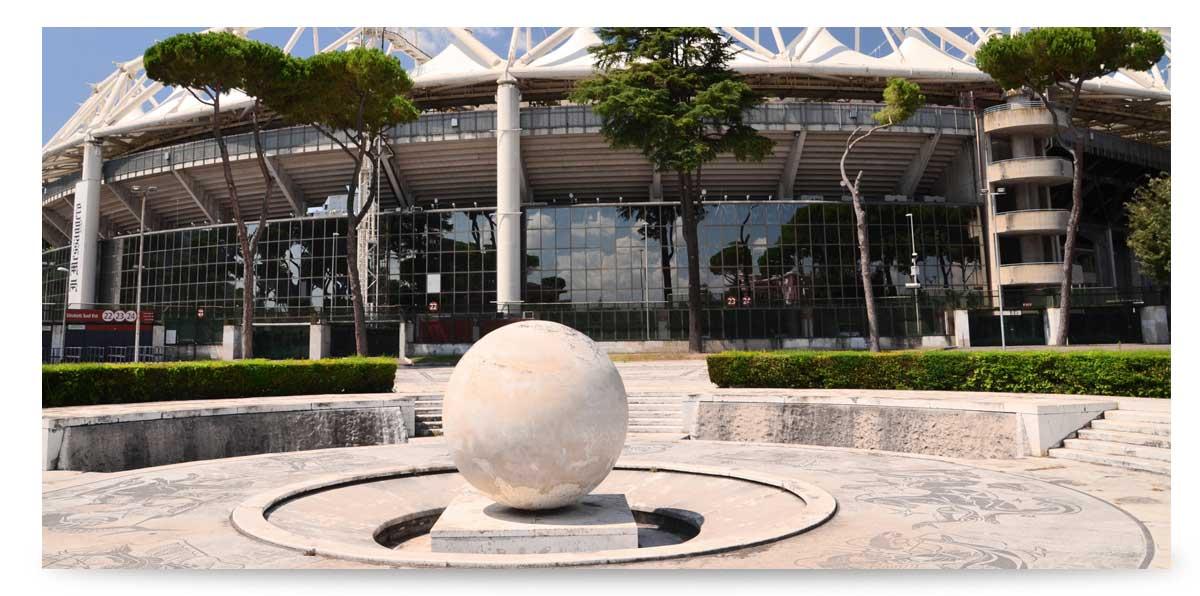 Olympiastadion in Rom Eröffnung EM 2020
