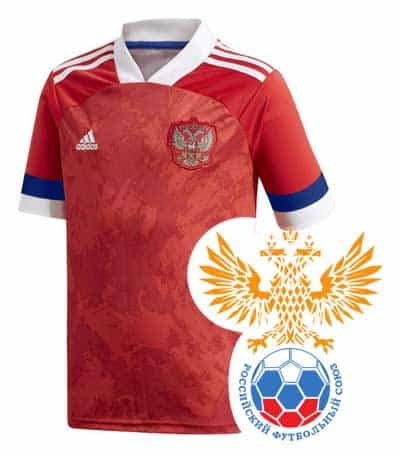 Russland EM 2020 Trikot und Logo