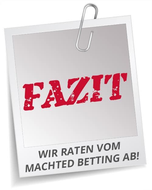 Fazit Matched Betting