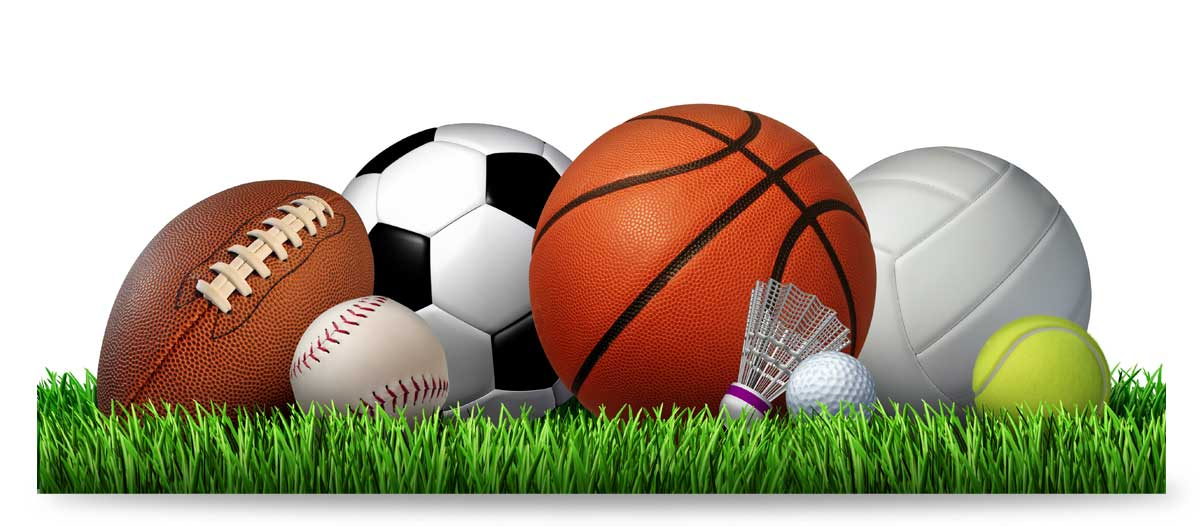 Viele Sportarten