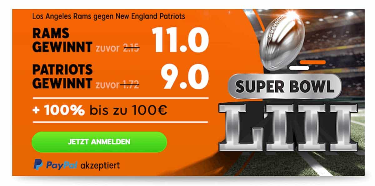 Quoten Super Bowl