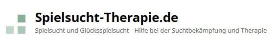 Spielsucht HIlfe als Therapie Logo