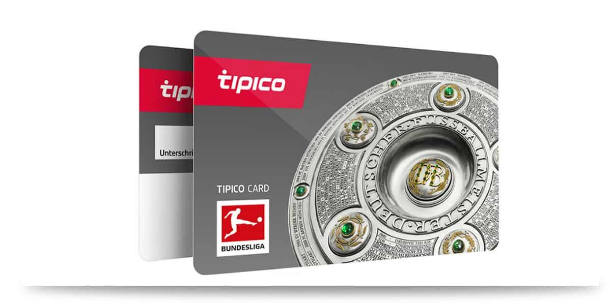 Tipico Karten mit der Wettscheine offline abgegeben werden