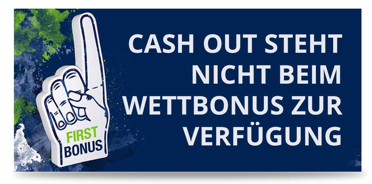 Cashout Verfügbar