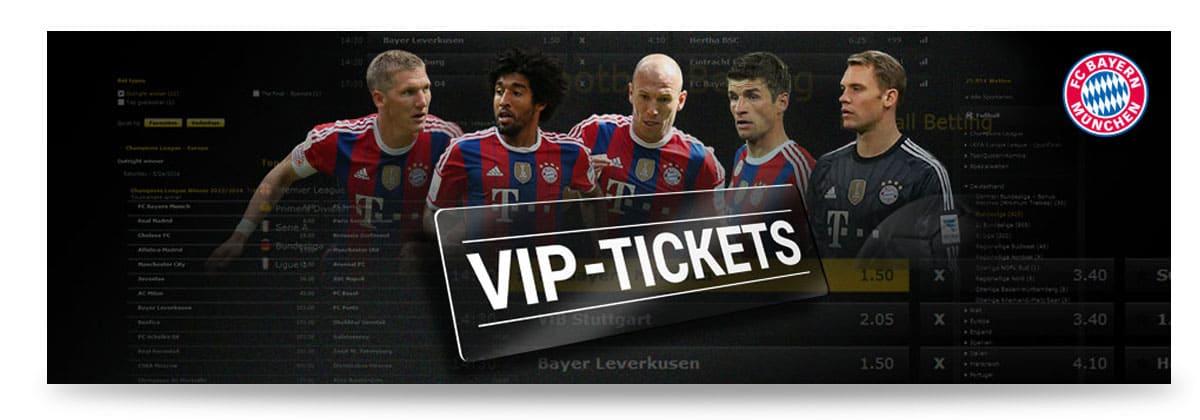 Bwin VIP Tickets für Premium Spieler