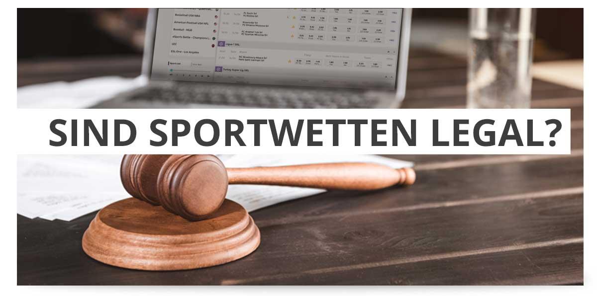Sportwetten Legal