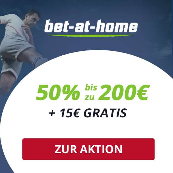 Exklusiver bet-at-home Wettbonus
