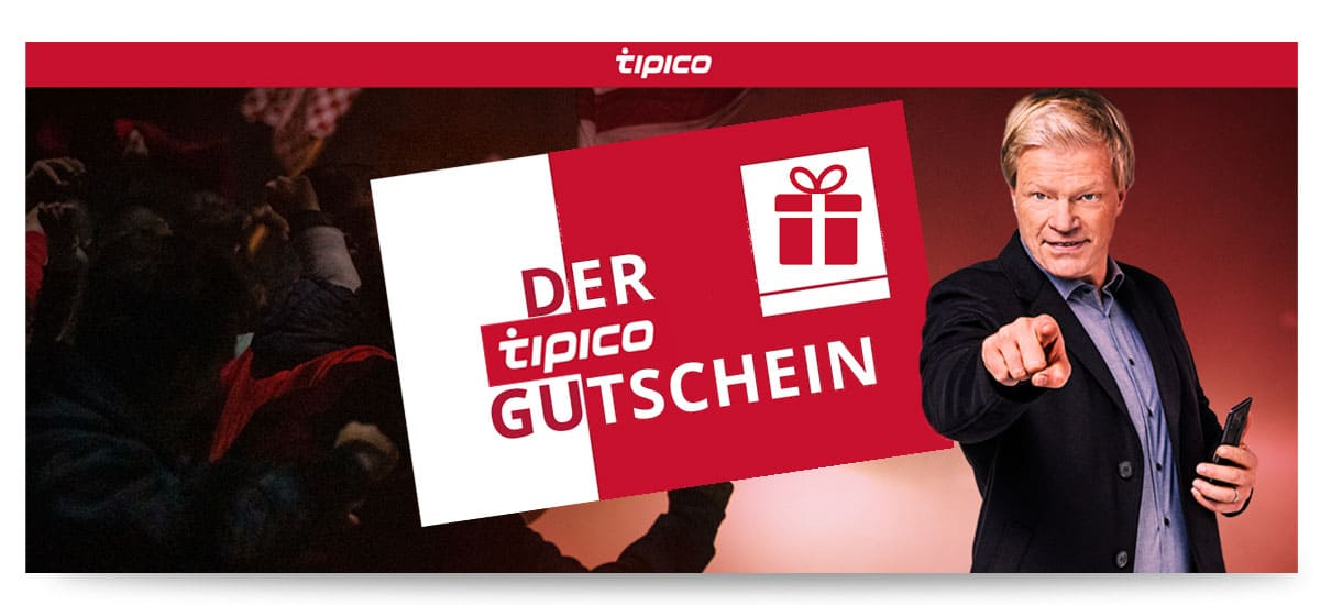 Tipico 5€ Gutschein