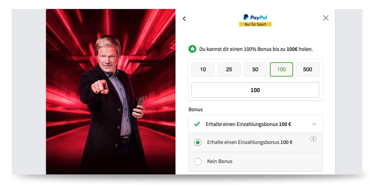 Tipico Paypal Konto ändern