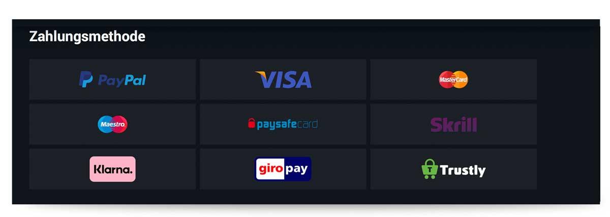 Zahlungsmethoden betano