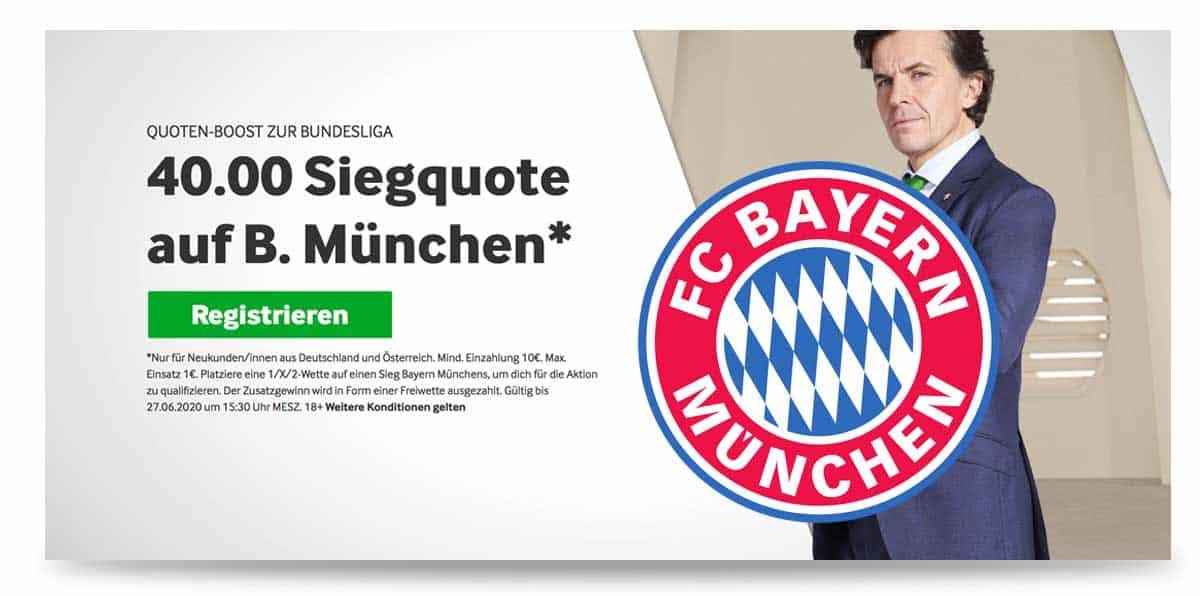 Sonder Bonus zur Bundesliga