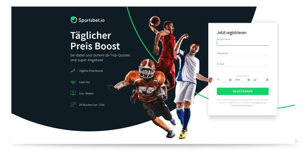 Sportbet.IO bester BitCoin Wettanbieter