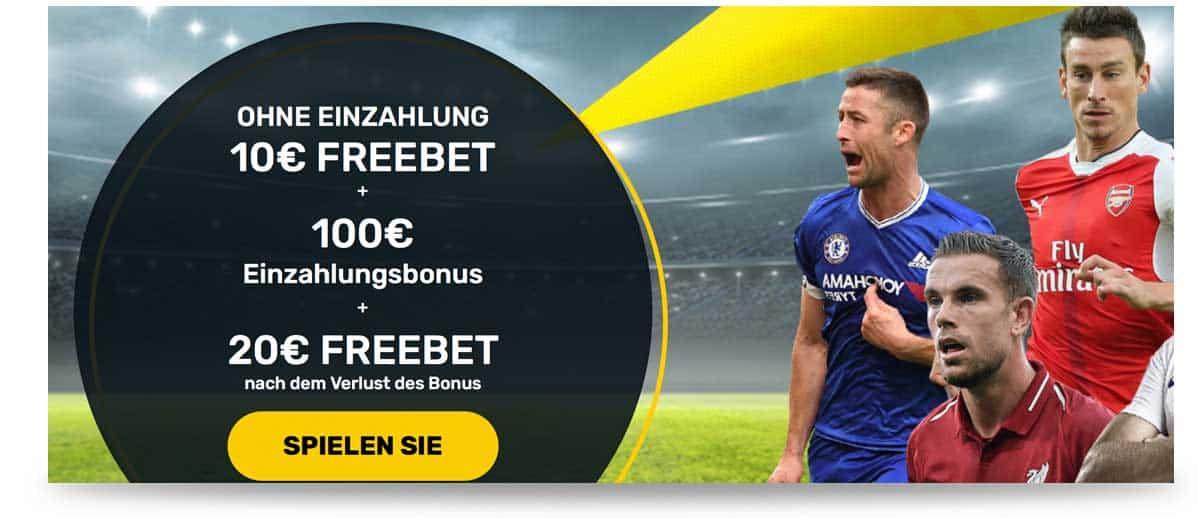 10 Euro Wettbonus ohne Einzahlung Campeonbet