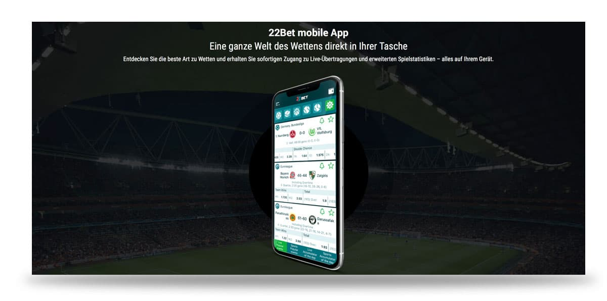 22bet App Werbung