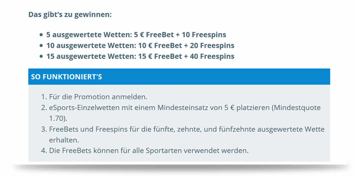 Free Bets Sportingbet Anleitung