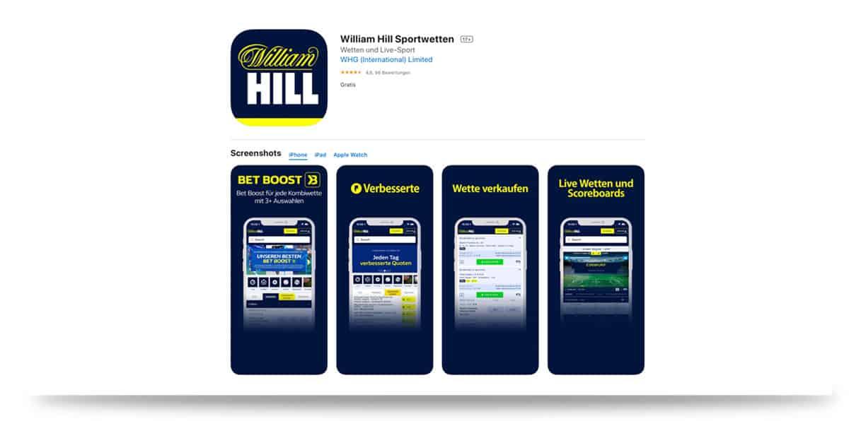 William Hill App iOS