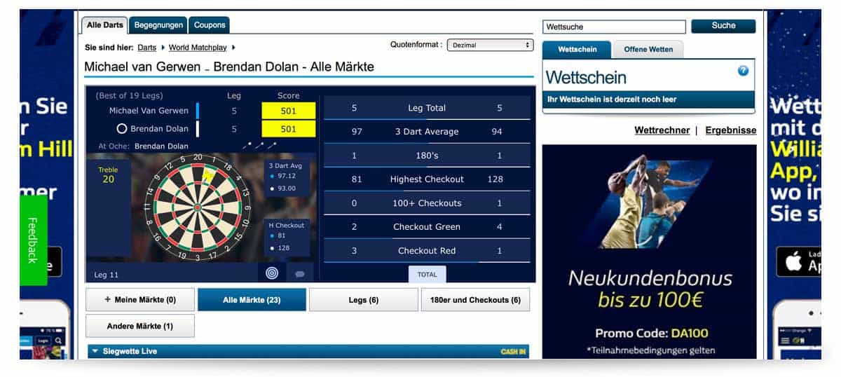 Startseite William Hill