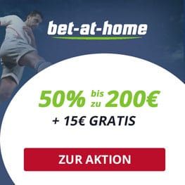 Exklusiver bet at home Wettbonus