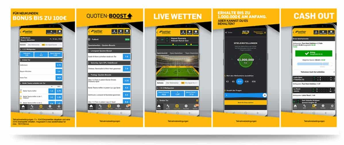 Betfair App Android